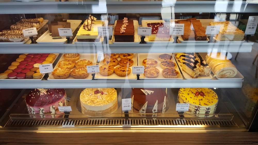 The cake cabinet