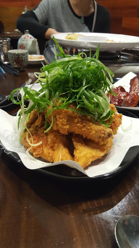 Spring Onion Fried Chicken