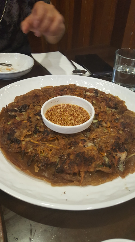Dotori-Gul Jeon - Oyster Pancake