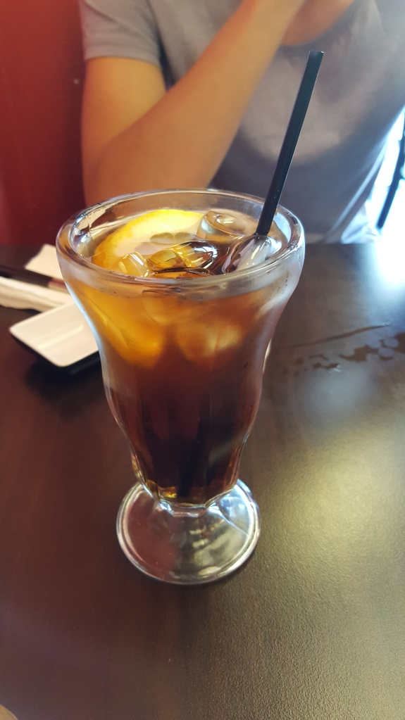 Signature Plum Iced Tea $4.5