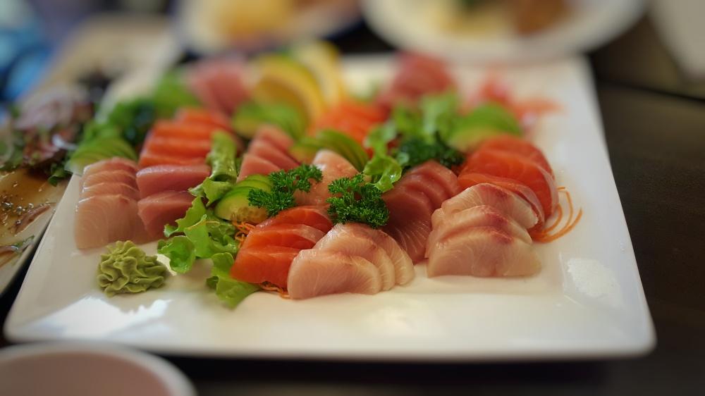 Family Sashimi Platter $55